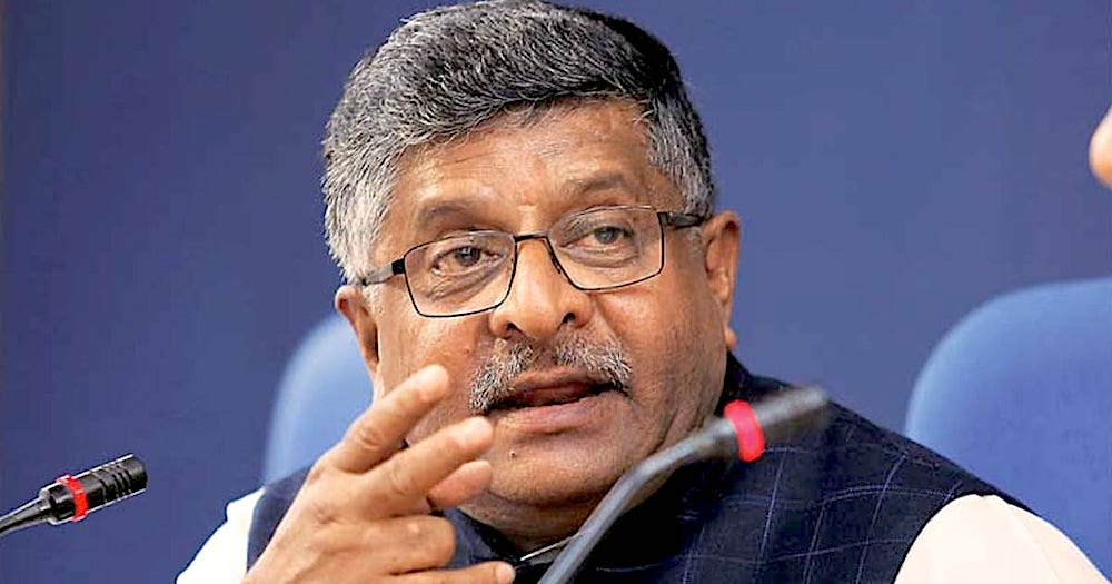 Ravi Shankar Prasad, G20, COVID-19, SMESTreet