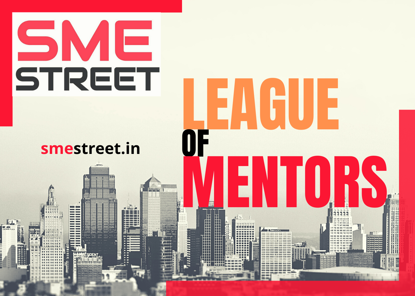 SMEStreet League of Mentors Expanded, MSME Ministry's Piyush Srivastava & NSIC's P Udayakumar To Support the League with their Knowledge