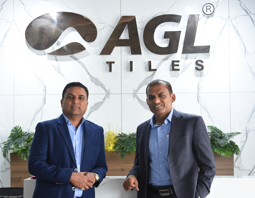 Kamlesh Patel, CMD, Mr. Mukesh Patel, MD, Asian Granito India Ltd