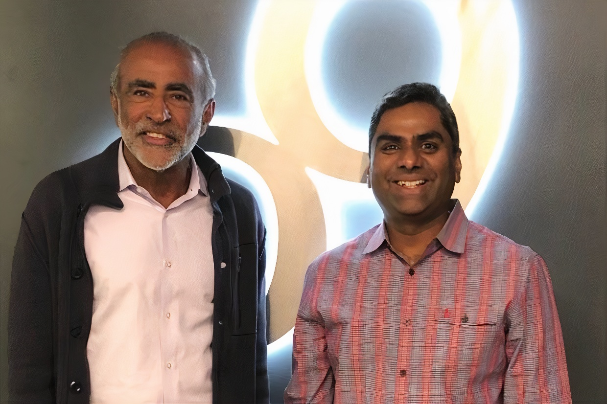 Sanjiv Sidhu, Chairman and Co-Founder and Chakri Gottemukkala, Co-founder, CEO, o9 solutions