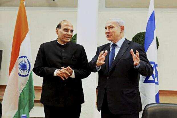 Rajnath Singh, Defence, Israel