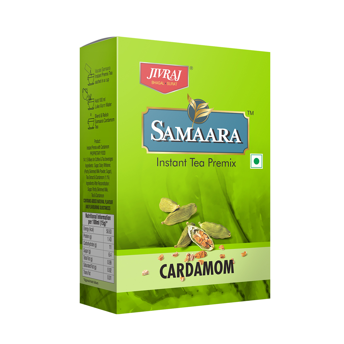 Samaara-Instant-Tea-Premix-Cardamom