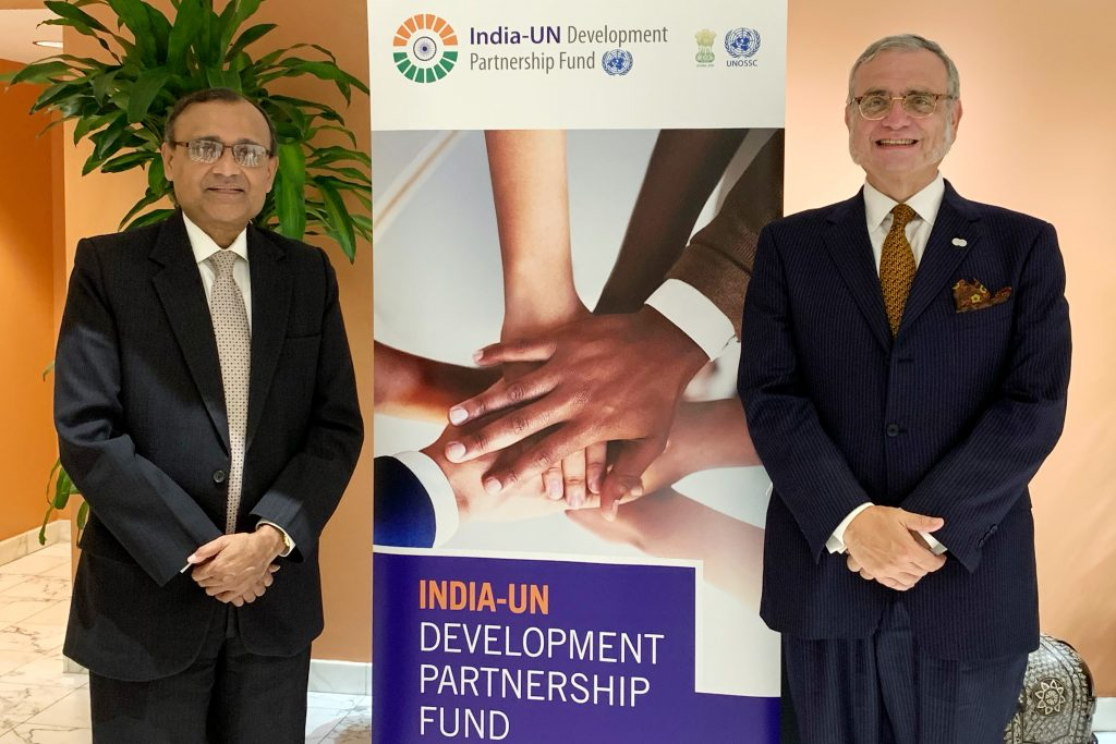 UN South South Cooperation - India, Jorge Chediek,