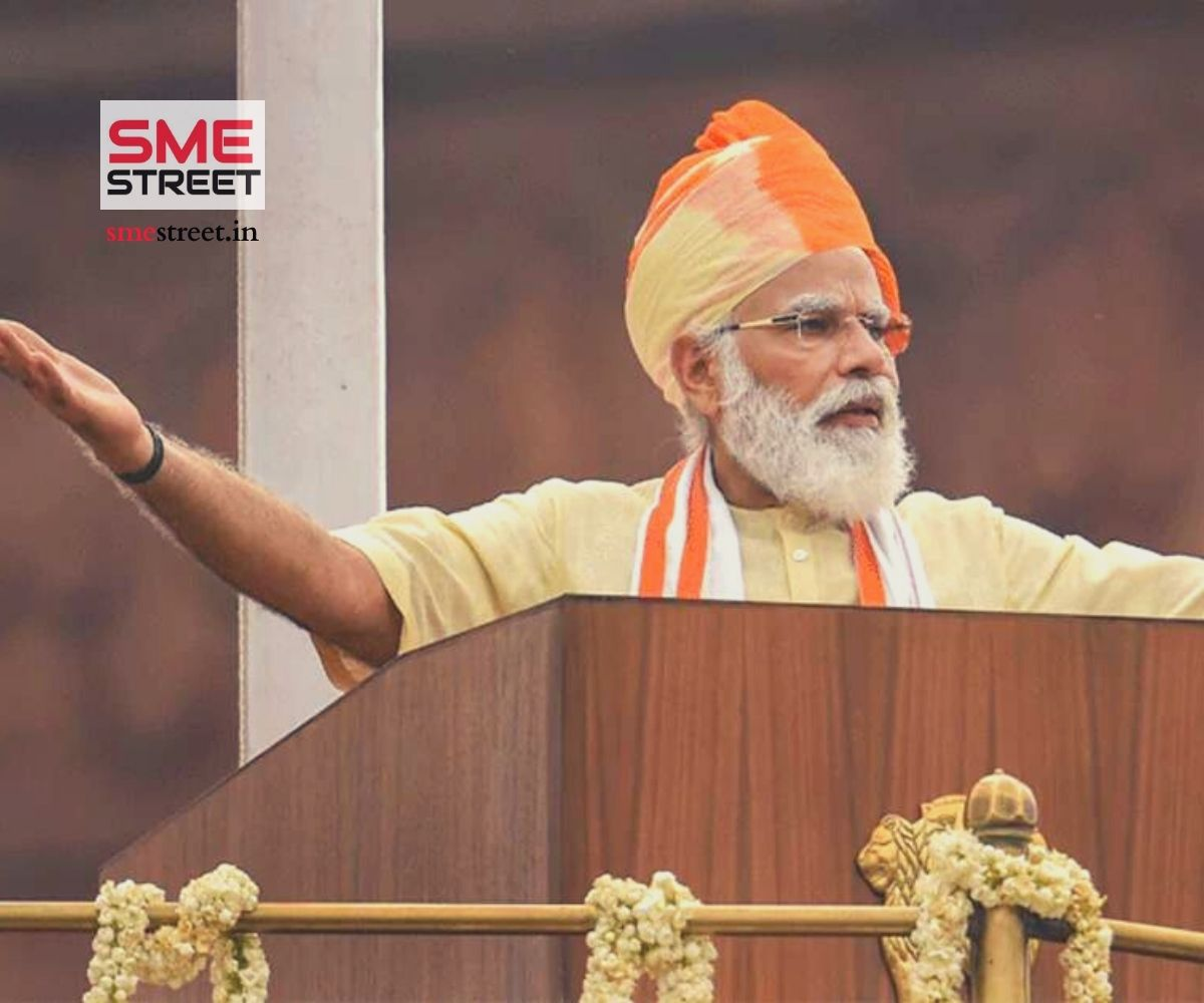 smestreet.in, Narendra Modi, Independence Day Speech, Lal Qila,