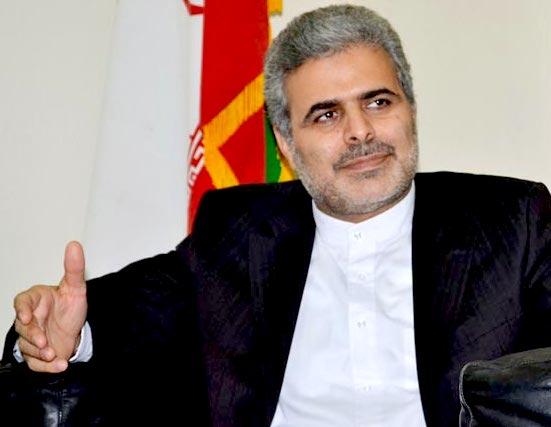 Ali Chegeni, Iran, Indian Ambassador