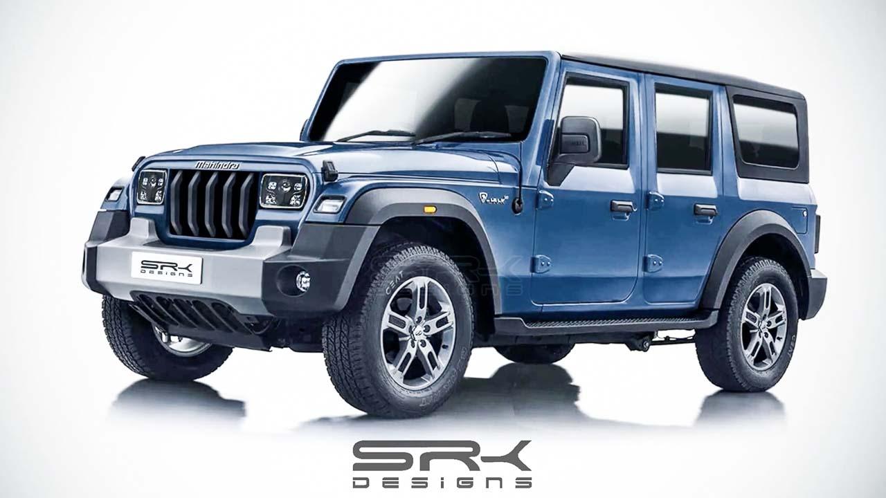 All-New Thar SUV