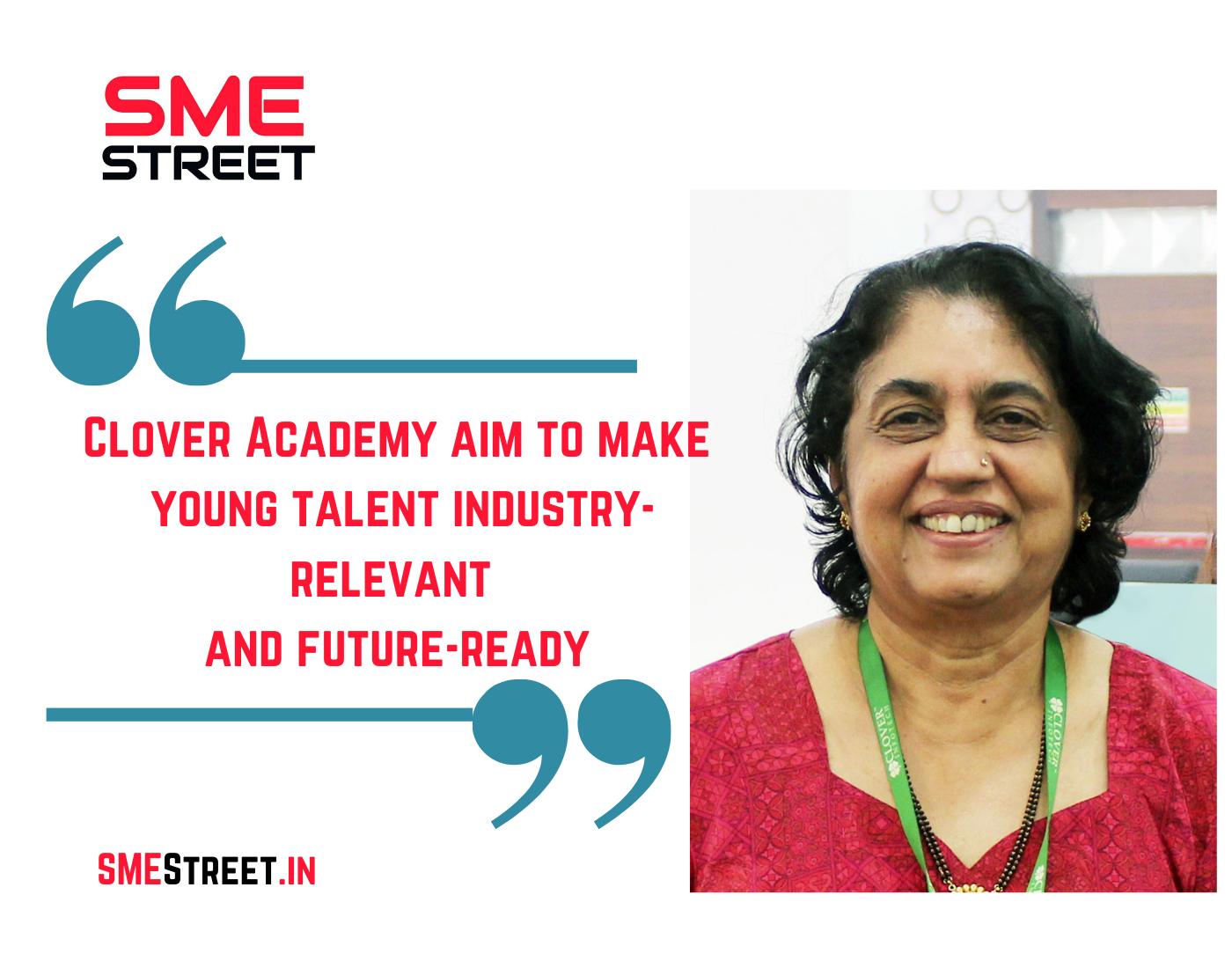 Clover Academy, Clover Infotech, Faiz Askari, SMEStreet, Lakshmi Mittra,