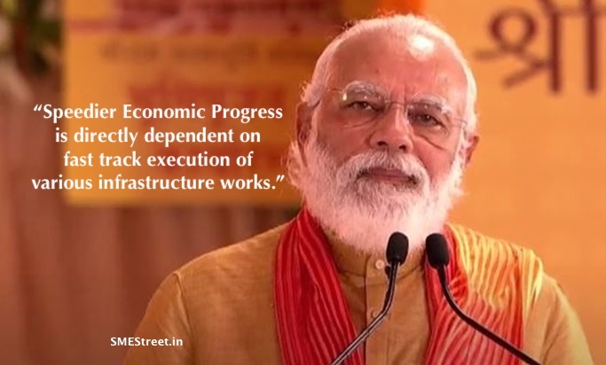 Narendra Modi, SMEStreet