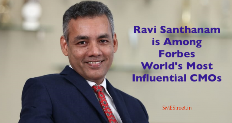 Ravi Santhanam, HDFC, Forbes List