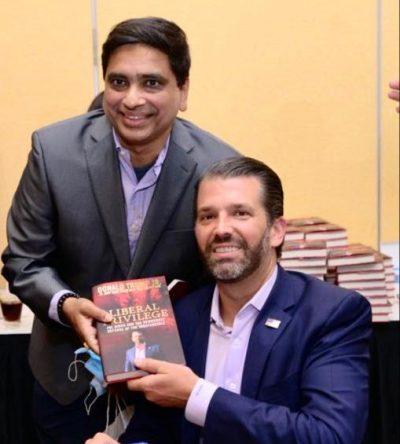 Bhagi Nanda With Don Trump Jr
