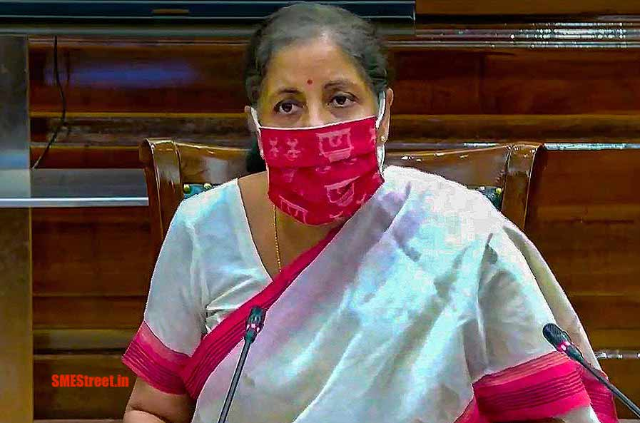 FM Sitharaman Participates in ADB Governors' Seminar as Part of Bank's 2021 meeting