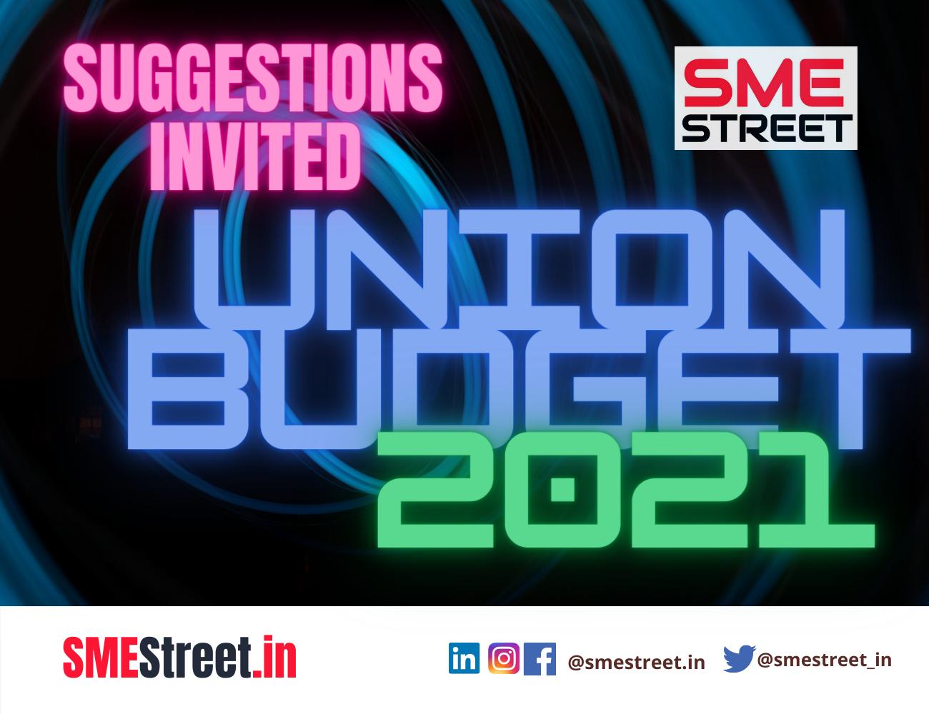 UNion BuDGEt 2021, SMEStreet,