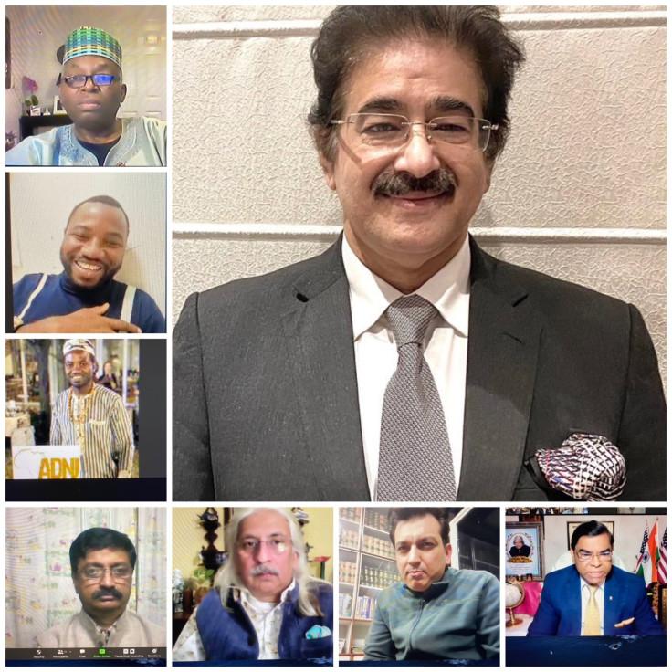 Dr Sandeep Marwah, Faiz Askari, Dr Hari Eppanpally