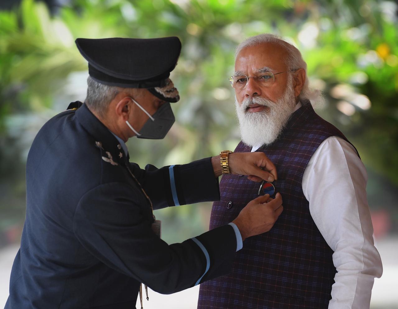 Narendra Modi, Flag Day, army Flag day