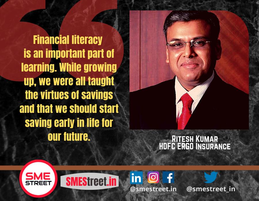 Ritesh Kumar, HDFC ERGO Insurance, SMEStreet