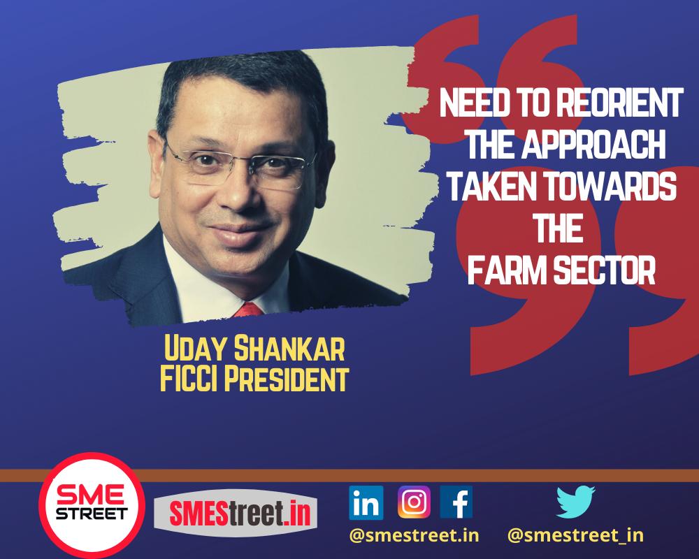 Uday Shankar, FICCI President, SMEStreet