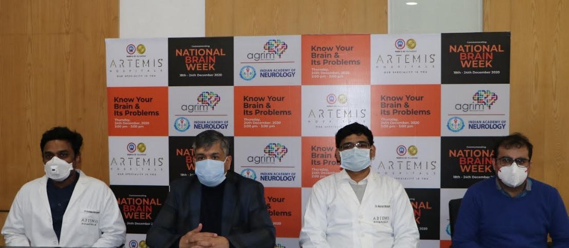 Artemis Hospitals Commemorates National Brain Week to Disseminate Awareness on Neurological Disorders
