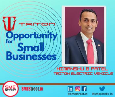 HImanshu B Patel, Triton EV, Triton Electric Vehicle, SMESTreet, EV , EV Manufacturing, Faiz Askari,