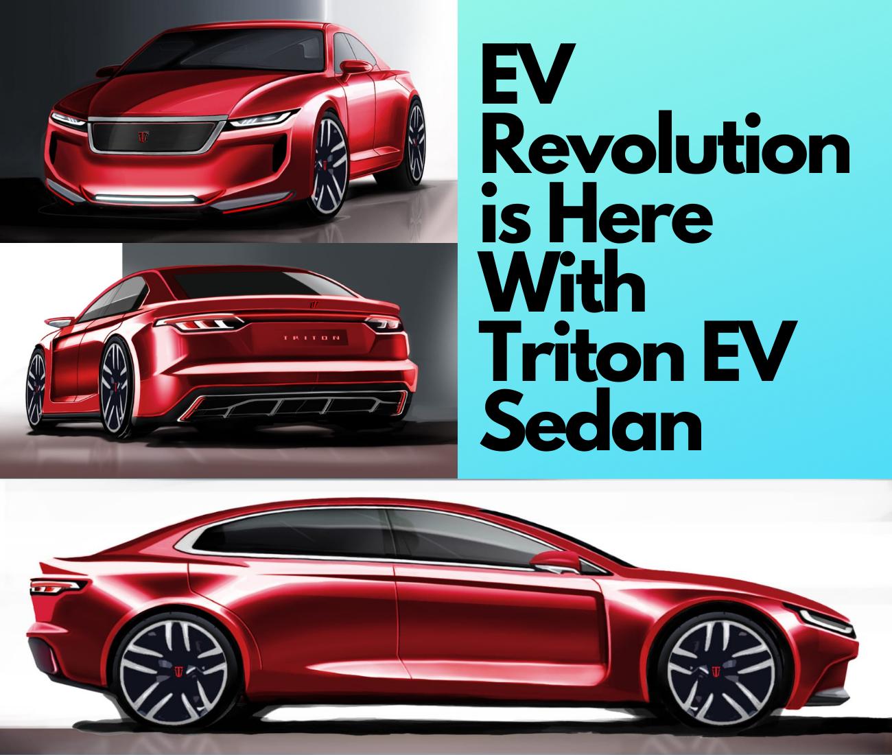 Troton EV, Electric Vehicle, Triton EV N4 Sedan