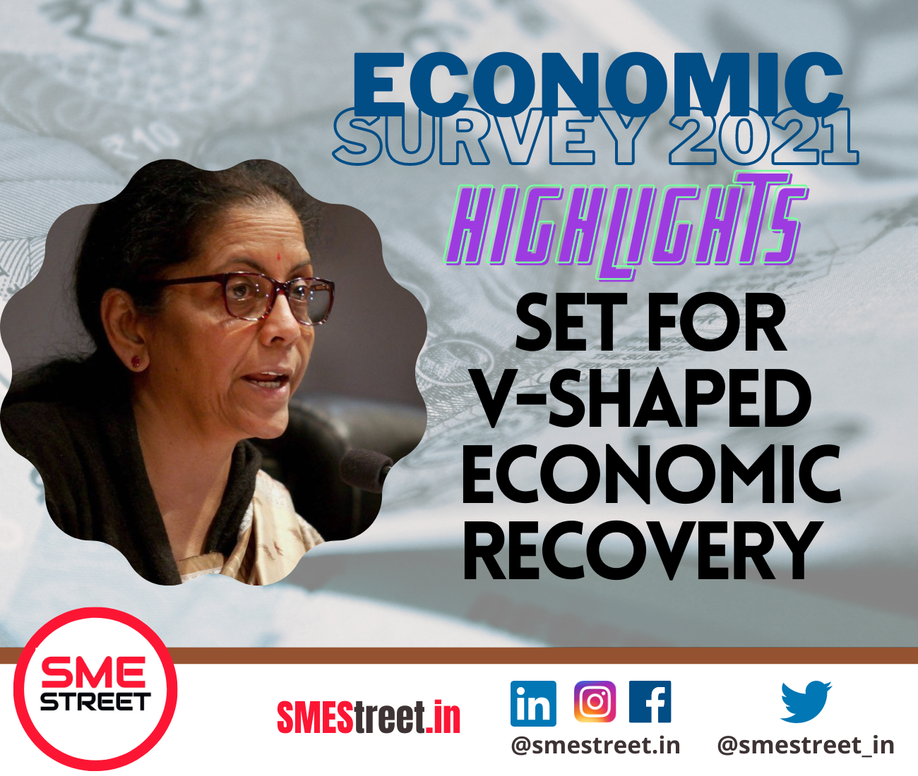 COVID Vaccination Drive Is helping in Getting on V Shaped Economic Recovery: FM Sitharaman