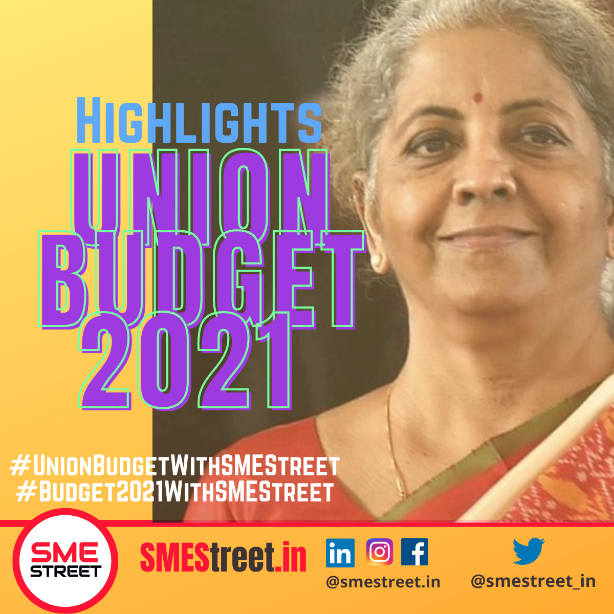 Budget Highlights for MSMEs, SMESTreet (1)