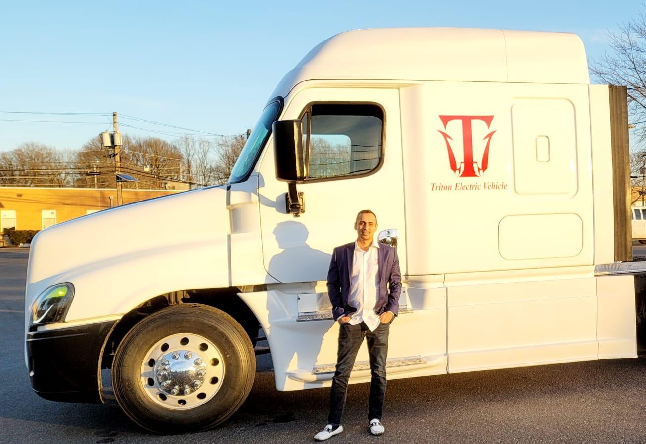 Himanshu B Patel, Triton EV Truck, Triton EV