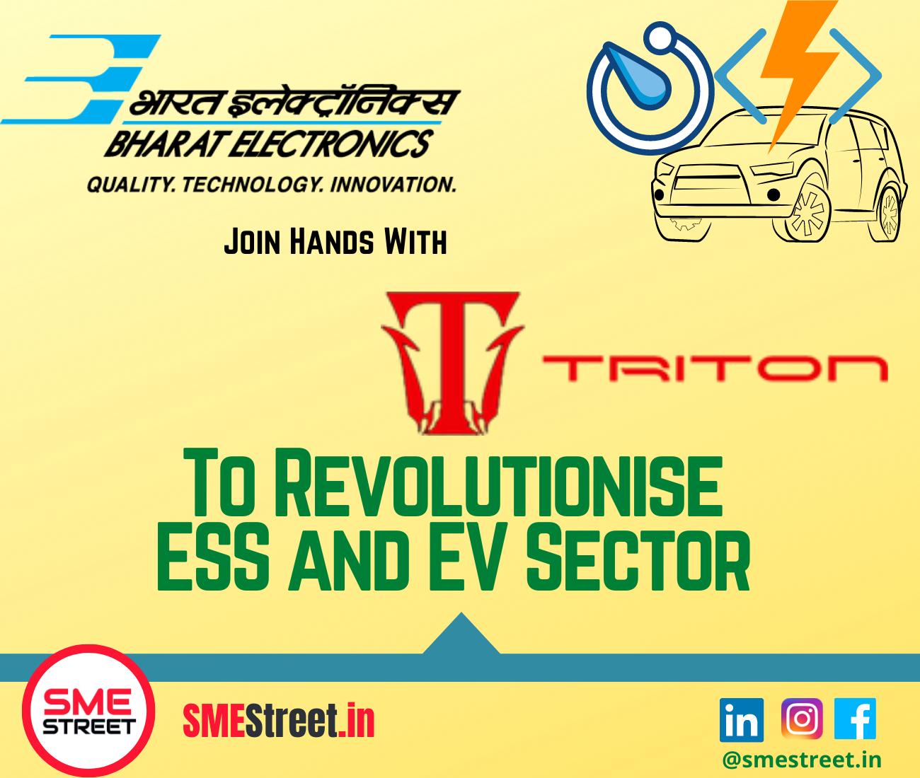 MoU, BEL, Triton Electric Vehicle, Triton EV, SMESTreet