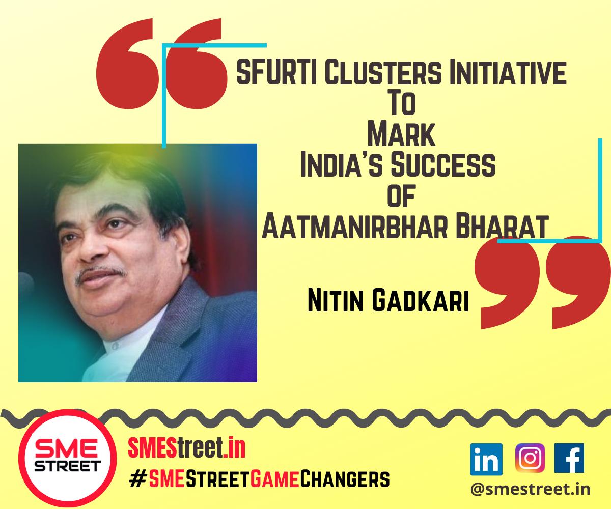 Nitin Gadkari Inaugurated 50 New SFURTI Clusters To Empower 42000 Artisans Across India
