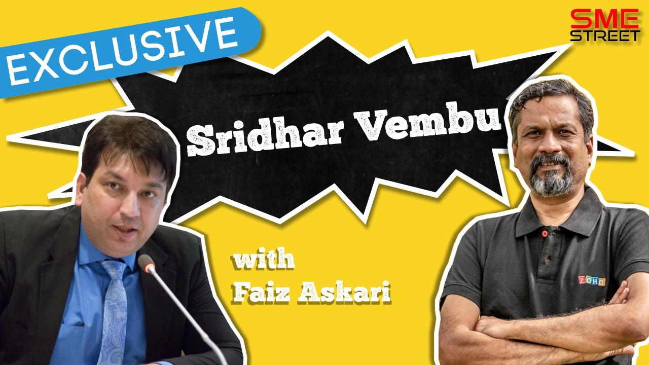FAiz Askari, Sridhar Vembu, SMEStreet