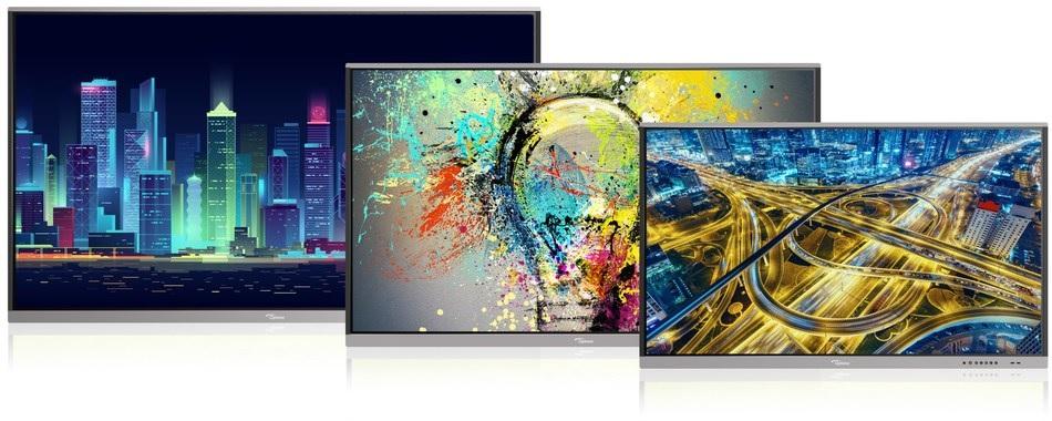 Optoma, IFP, Large Display Panels