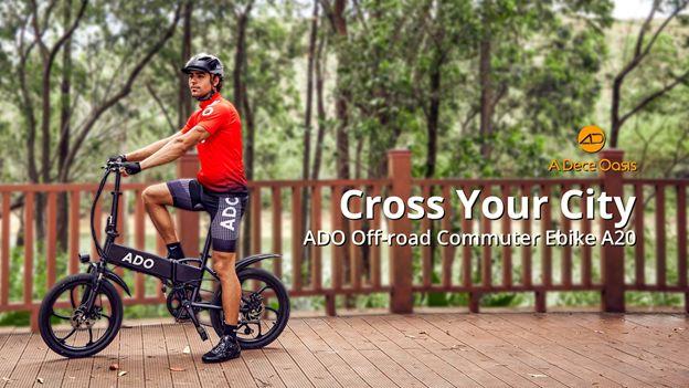 ADO Debuts A20 Urban Off-Road Commuter Ebike Across EU on May 6