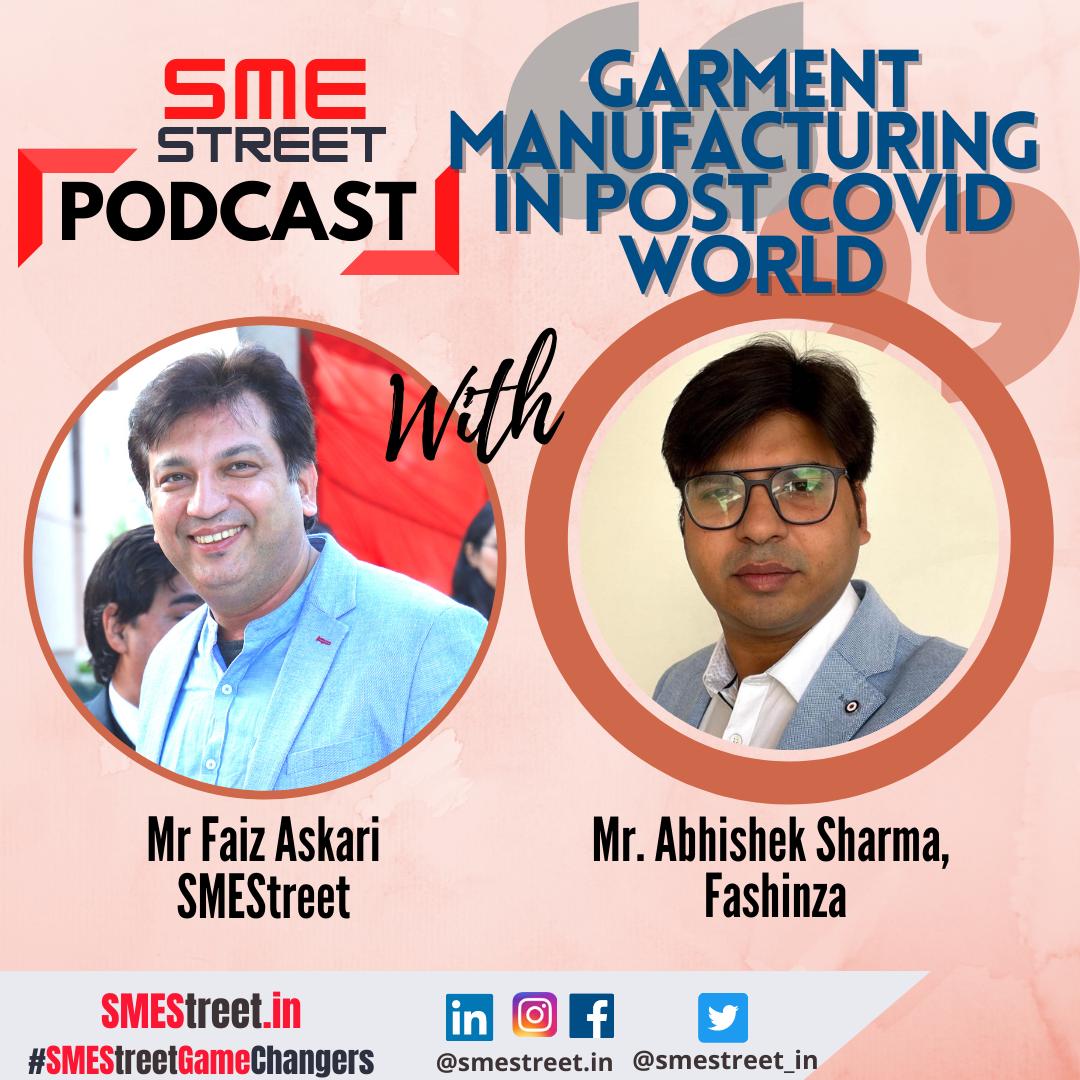 Abhishek Sharma, Fashinza, Faiz Askari, SMEStreet, Podcast