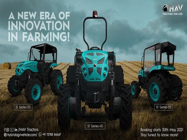 Fully Automatic India's First Hybrid Tractor Launched With No Battery Packs – HAV Tractors