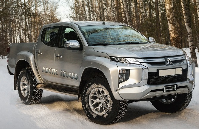 Mitsubishi L200 From Arctic With Updated Off-Road Capabilities