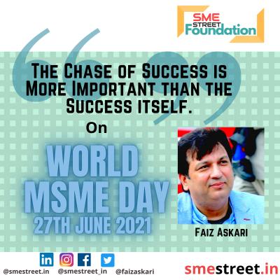 Faiz Askari, SMEStreet GameChangers, SMEStreet GameChangers Forum, World MSME Day, , International MSME Day,