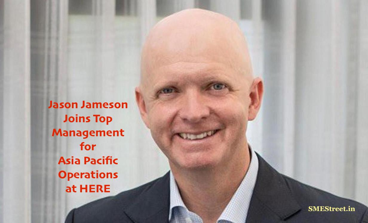 Jason Jameson Joins HERE as Senior VP and General Manager for Asia Pacific