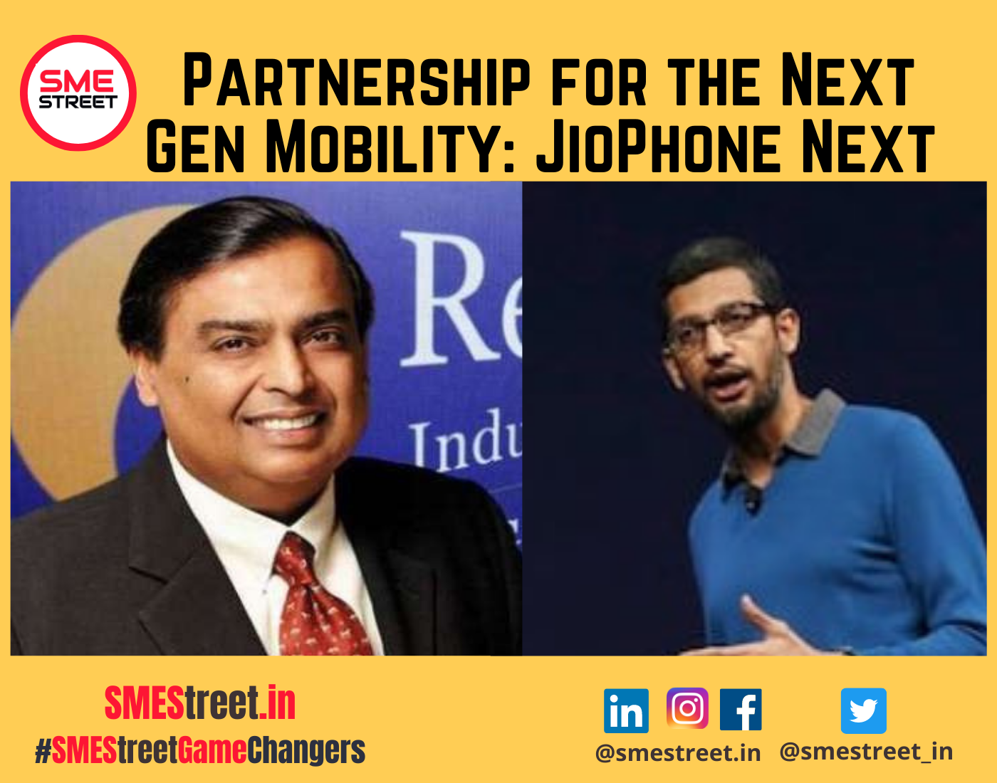 Google and Jio Showcased Jointly Developed Smartphone JioPhone Next