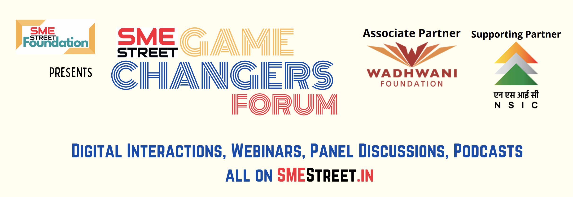 Live Broadcast SMEStreet GameChangers Forum