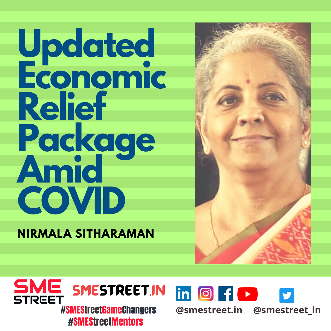 Nirmala Sitharaman, SMEStreet, Updated Economic Relief Package