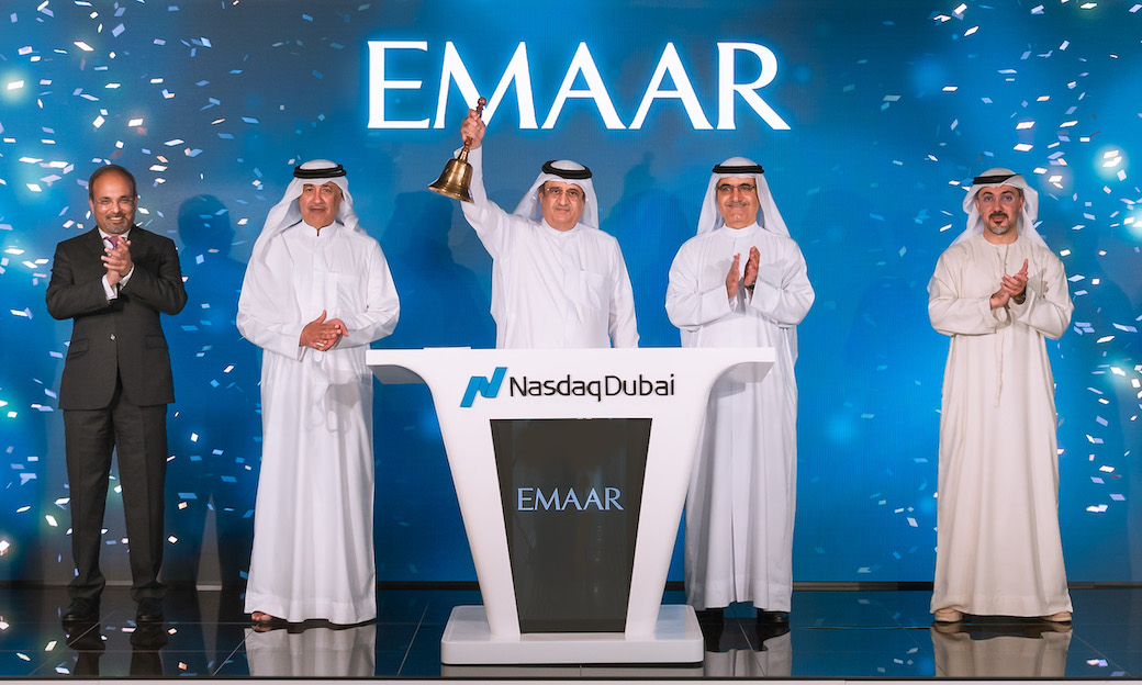 Emaar Properties Rings Nasdaq Dubai's Market-Opening Bell to Celebrate US$ 500 Million Sukuk Listing