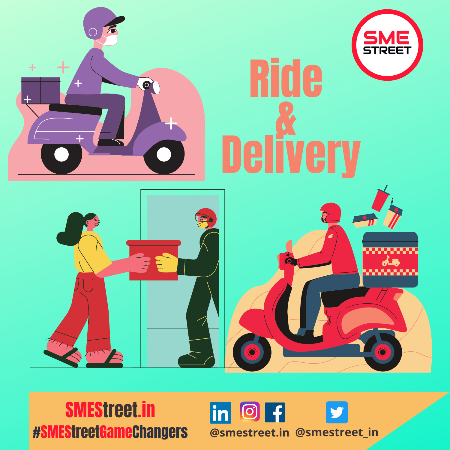 Whide: First Ride and Delivery App Runs on Trust Launches in India