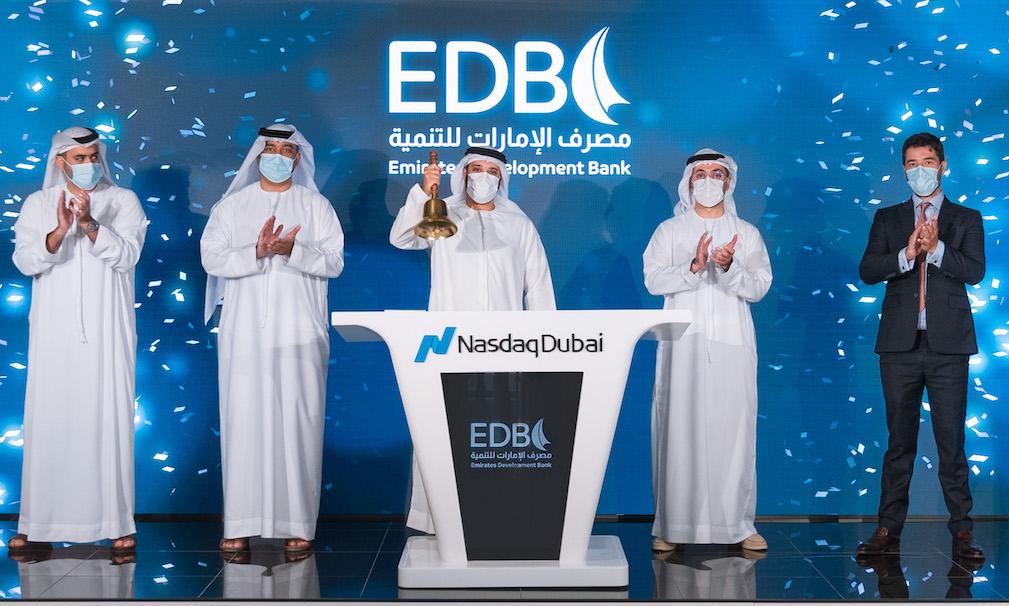 Emirates Development Bank Rings Nasdaq Dubai's Market-Opening Bell to Celebrate US$ 750 Mn Bond Listing
