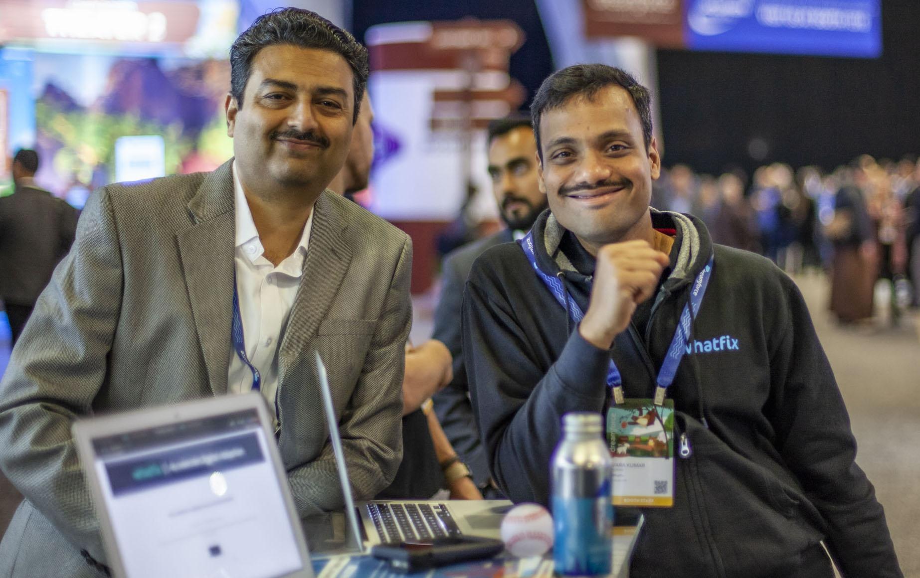 Khadim Batti, Vara Kumar, co-founders, Whatfix
