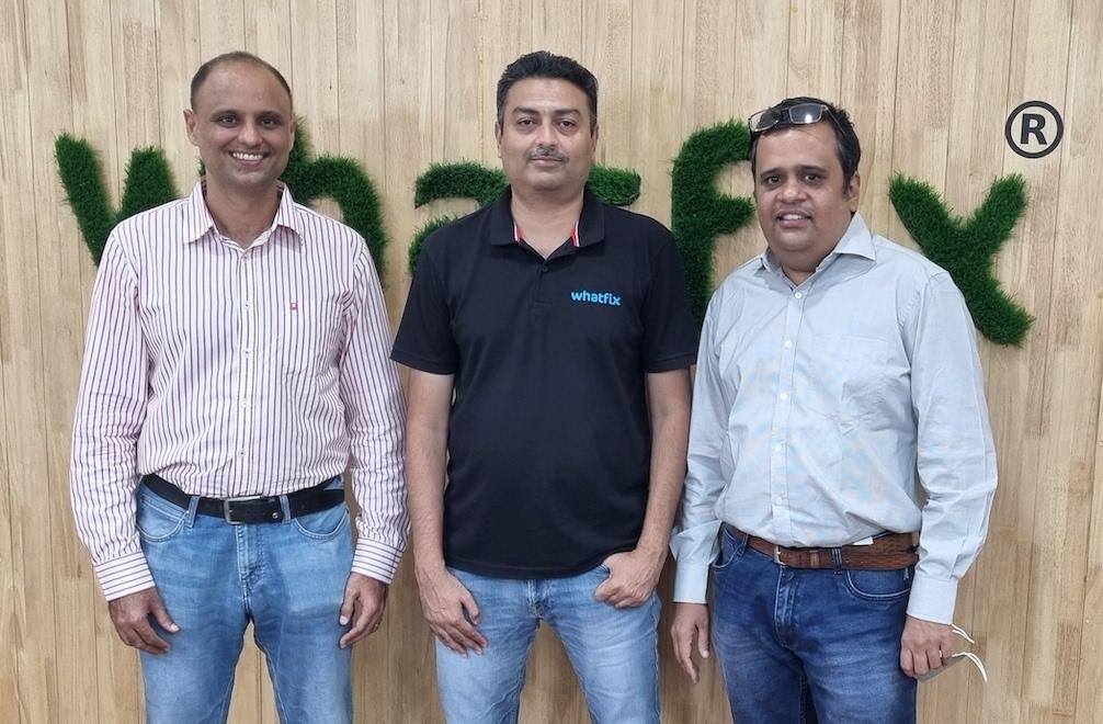 From Left to Right Gagandeep Josan, Khadim Batti and Aravindan BS