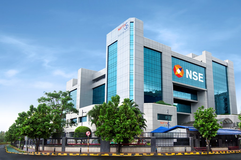 NSE Building, SEBI, NSE, BSE
