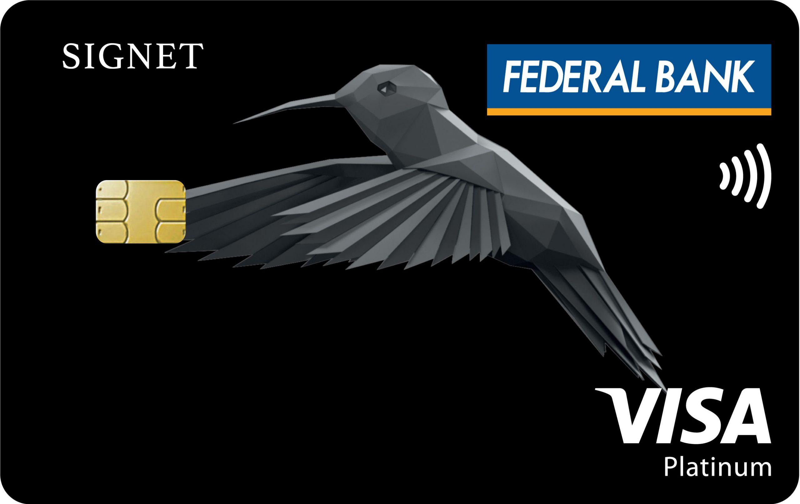 Federal Bank Signet Visa Credit Card