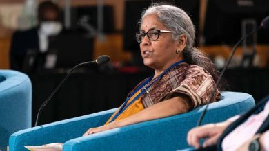 Nirmala Sitharaman, IMF, Washington DC